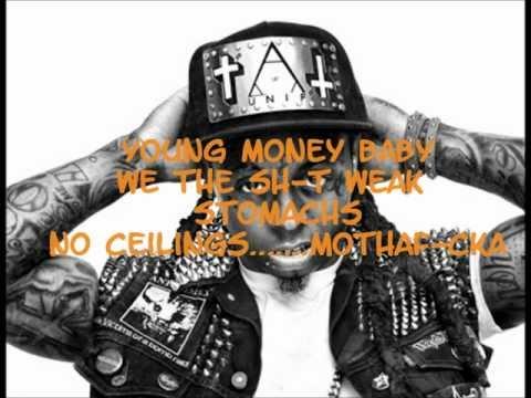 Lil Wayne - Ice Cream (Paint Job) Lyrics (No Ceilings)