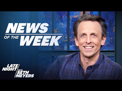 Late Nights News of the Week: Biden's Syria Airstrike, Gov. Cuomo Allegations