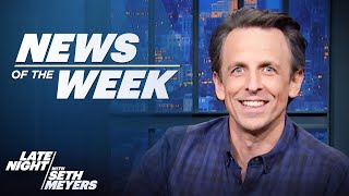 Late Night's News of the Week: Biden's Syria Airstrike, Gov. Cuomo Allegations