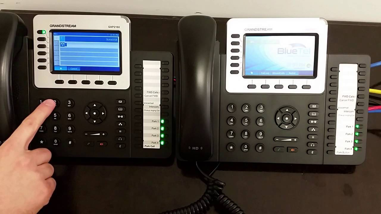 Grandstream GXP 2160 Transfer and Conference