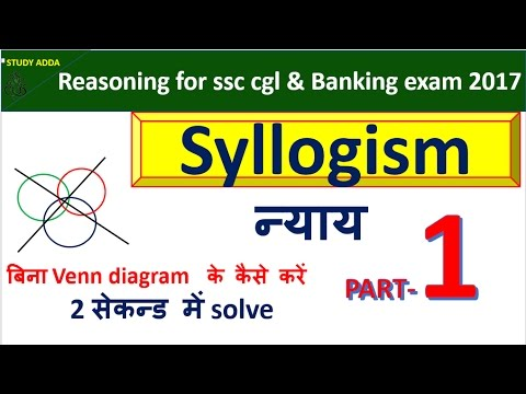 Syllogism Reasoning Tricks With Venn Diagram Circuit Connection