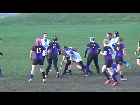 (WI-17') HS-Girls State Rugby Tourney - Brookfield vs. Pulaski (3rd Place Match) 10/29/17