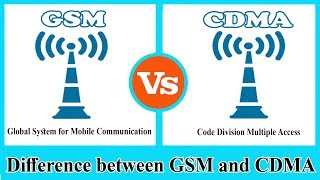 Gsm Vs Cdma Difference Between Cdma And Gsm