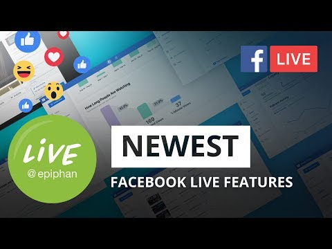 Newest Facebook Live Features + 1080p Support