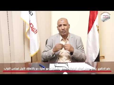 عامر الحناوي يقدم حصاد أعماله البرلمانية لأهالي أسوان مع نهاية دو رالانعقاد الأول لمجلس النواب