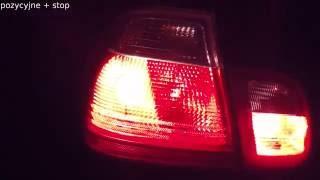 Dodatkowe Lampy Pozycyjne Tył Na Przekaźniku