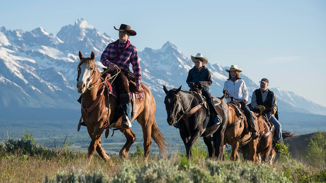 Horseback Riding   Spring Creek Ranch   Jackson Hole, Wyoming