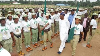 NYSC 2016 batch B stream 1 Passing Out Parade (POP) Ede camp, state of Osun.
