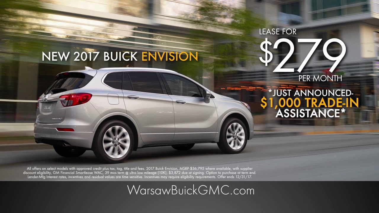 Warsaw Buick Gmc >> Discover The New Envision Today At Warsaw Buick Gmc