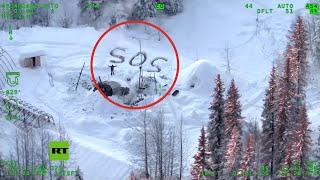 Sobrevive 23 días en temperaturas bajo cero tras incendiarse su cabaña en Alaska