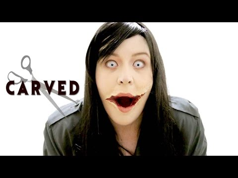 HALLOWEEN MAKEUP SEVEN: The Slit Mouthed Woman from CARVED Kuchisake Onna