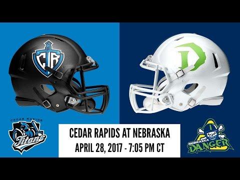 Week 11 | Cedar Rapids Titans at Nebraska Danger