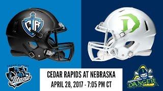 Week 11   Cedar Rapids Titans at Nebraska Danger