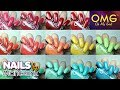 Nail Polish (OMG) Swatches - Pastel Color collection