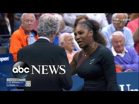 Serena Williams was fined $17,000 for arguing with the chair