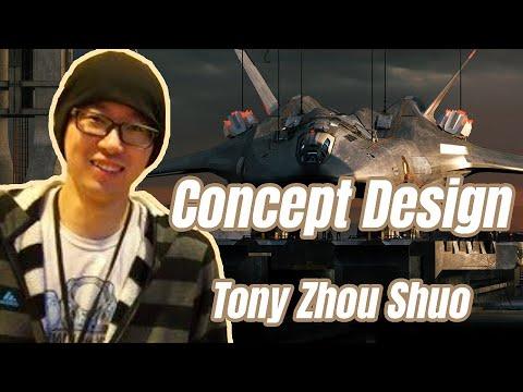 新加坡概念艺术家 Tony Zhou Shuo专访,场景概念设计经验谈