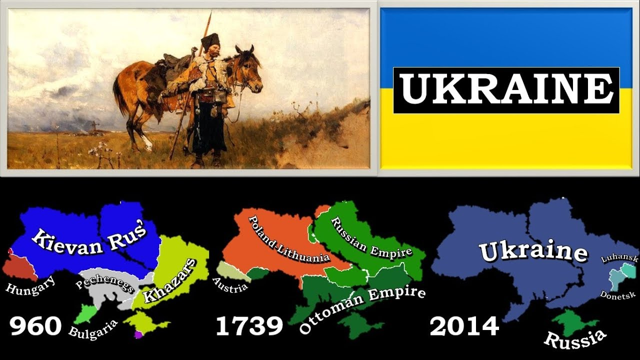 History of Ukraine (since 600 BC) - Every Year - YouTube