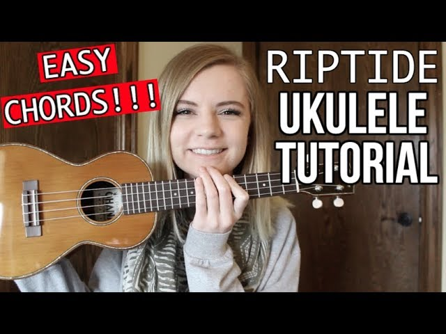 Riptide - Vance Joy | EASY UKULELE TUTORIAL Chords - Chordify