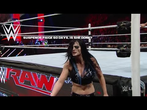 WWE Suspends Paige AGAIN, Will She Be Fired?