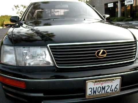 1998 Lexus LS 400 0-60 acceleration whistle | FunnyCat TV