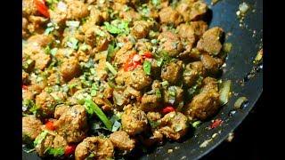 Stewed Soya Chunks  Taste of Trini