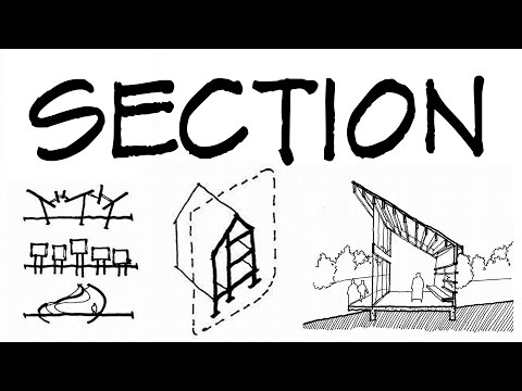 Sections For Architectural Sketches - Architecture Daily Ske