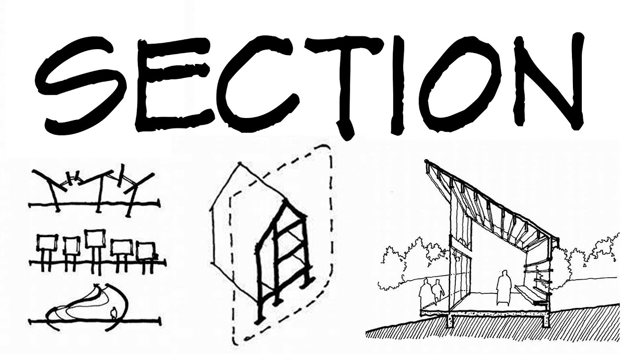 Sections For Architectural Sketches