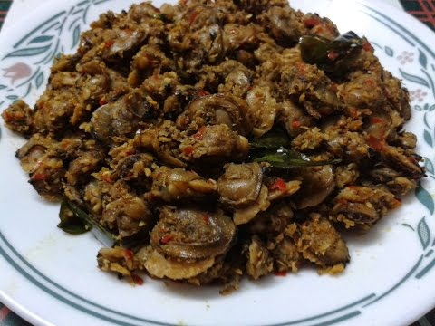 "Kerala ""Clams Roast"" Tasty ""Kakka irachi Roast"""
