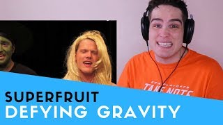 Voice Teacher Reacts to SUPERFRUIT - Defying Gravity