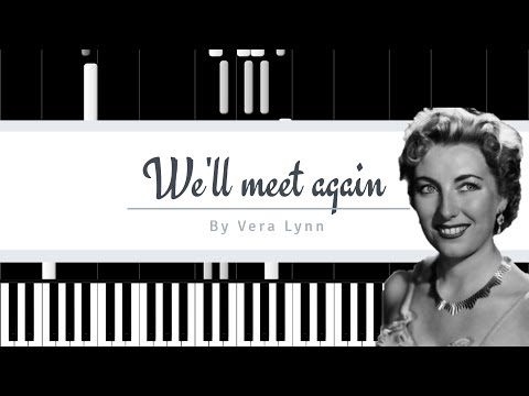 (HD)We'll Meet Again // Vera Lynn (With Lyrics)