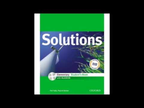 Solutions Elementary Audio CD1