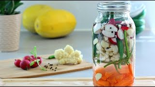 DIY Lacto-Fermented Mixed Vegetables