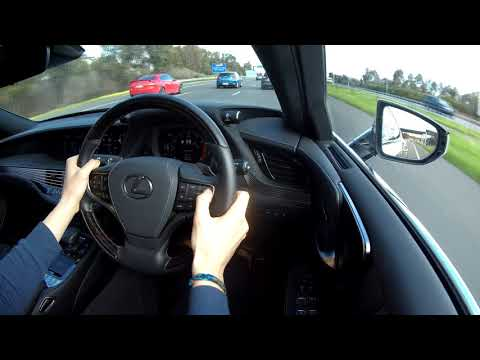 2019 Lexus LS500 - Carscoops POV Review