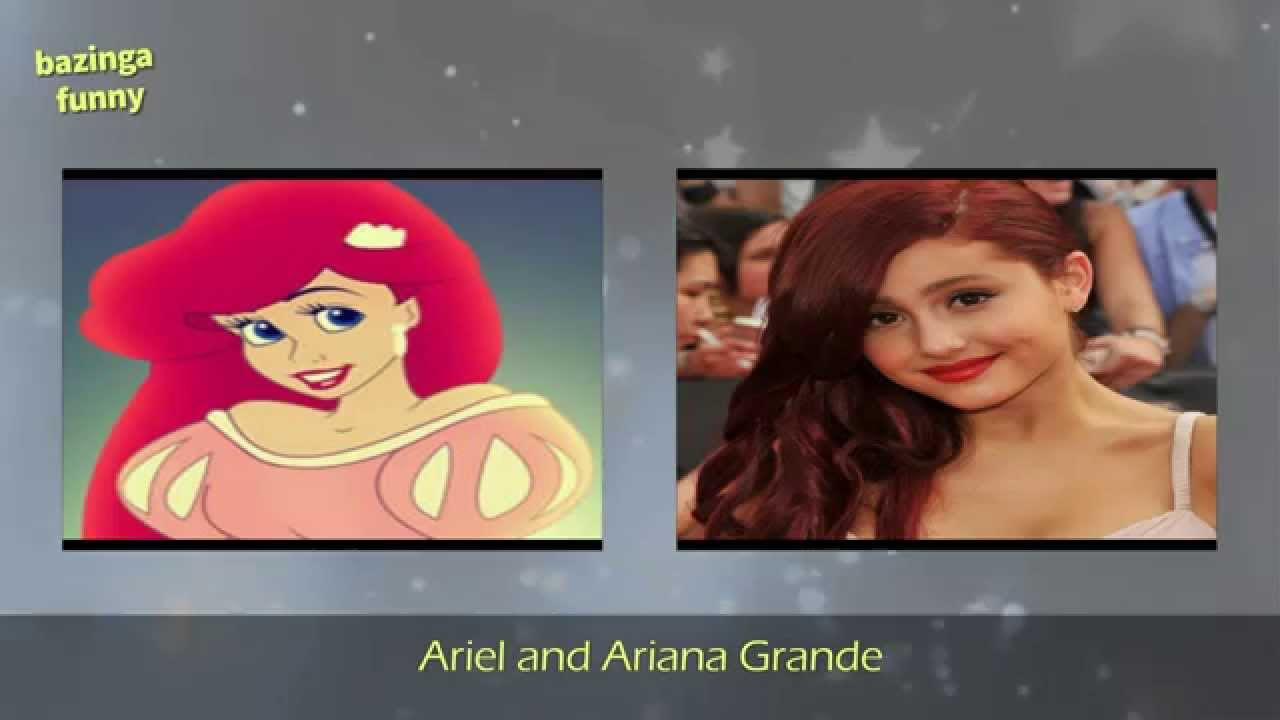 20 celebrities who look like cartoon characters youtube