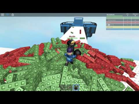 Playing a forgotten ROBLOX game we BLOW UP THE MAP!!!