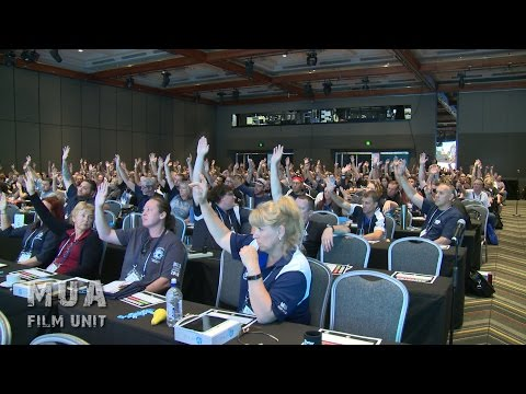 Maritime Union of Australia - Conference 2016 - Day 1