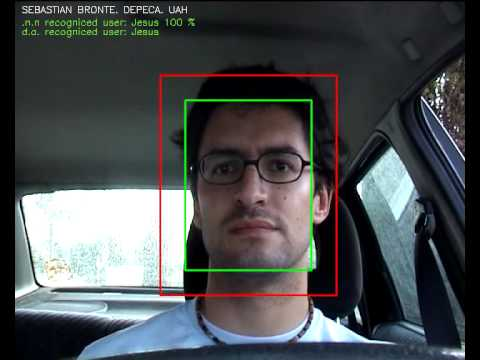 Driver's face recognition system