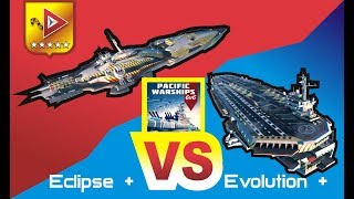 Pacific Warships - Leviathan, Eclipse VS Evolution, Liberator, Jupiter!