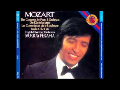 W.A. Mozart - Piano Concerto no. 22, K 482 - Murray Perahia