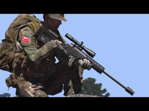 MKE yapımı milli keskin nişancı tüfeği BORA 12 ( JNG-90 )