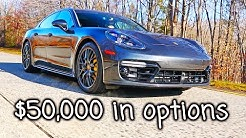 Porsche Panamera GTS details with $50k in options