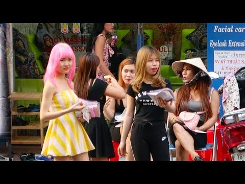 Vietnam Street Scenes 2017 - Saigon Vlog 188