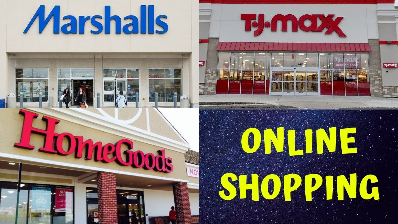 Marshalls opens its first online store