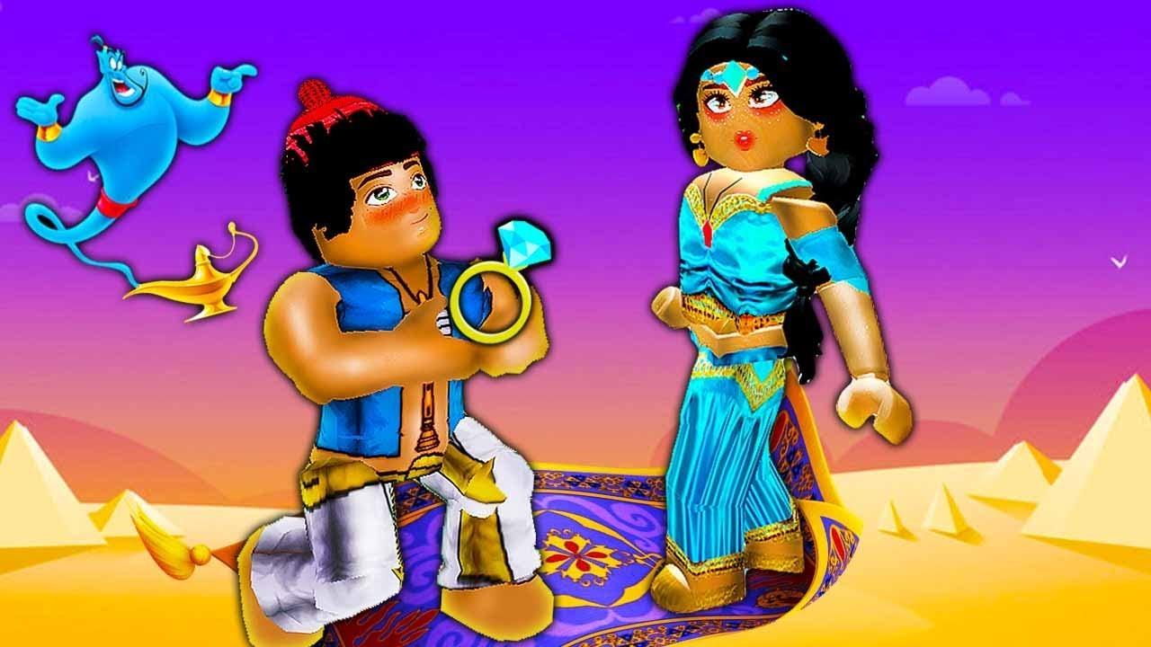 Aladdin Jasmine Love Story Royale High School Roblox