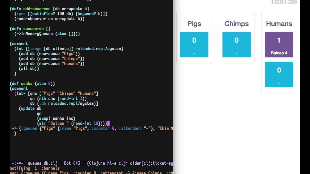 emacs + clojure + clojurescript, interactive (addictive) development