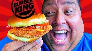 BURGER KING® Bacon Cheddar Ranch Crispy Chicken Sandwich REVIEW!
