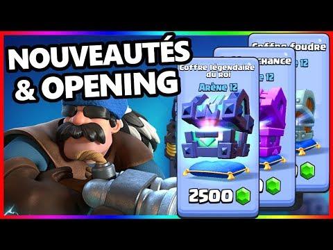 NOUVELLE MAJ - OPENING || Nouveaux coffres || CLASH ROYALE FR