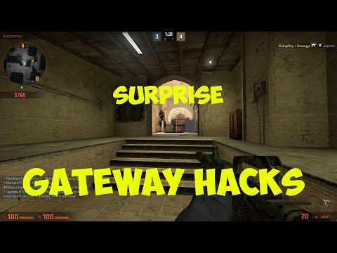 Gateway Hack (Counter-Strike : GO Funny moments)