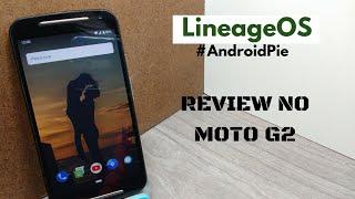 #MitoVoltou #MotoG2Titan REVIEW DA ROM LineageOS 16 (ANDROID 9.0) NO MOTO G2 😍