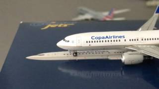 Gemini Jets Copa  737-800 1:400 Model Review